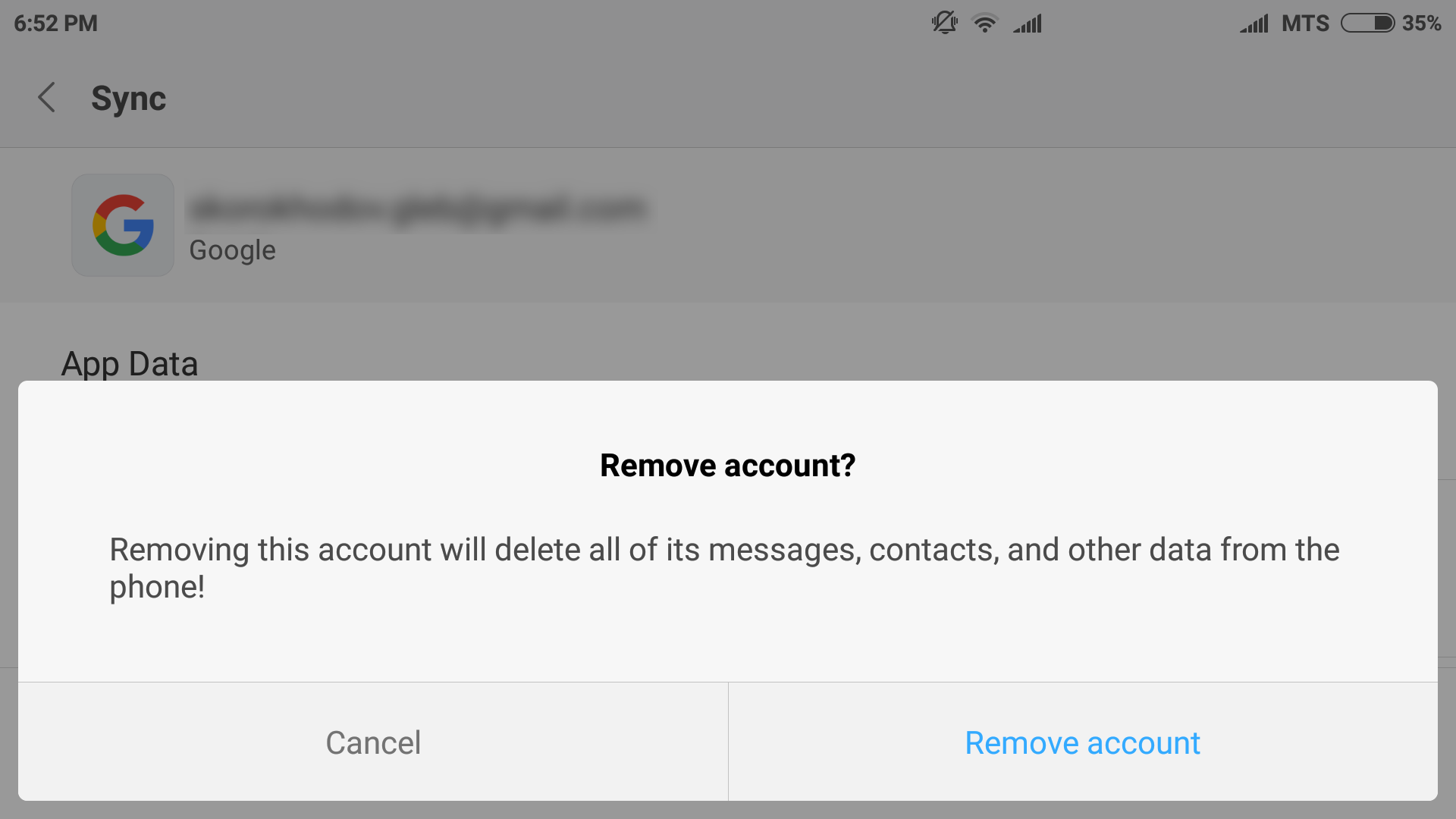 Process to Remove Google Account from Your Android Phone